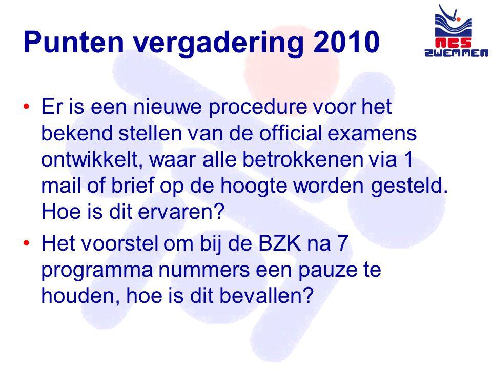 Evaluatie Seizoen 2010 - 2011 •LZK •NCS wedstrijden •BZK •Masterzwemmen