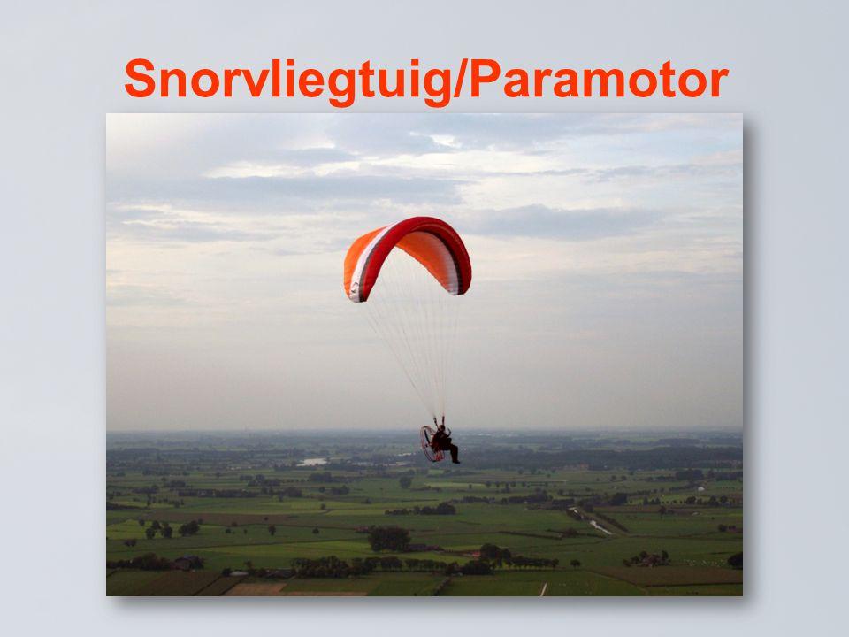 Snorvliegtuig/Paramotor