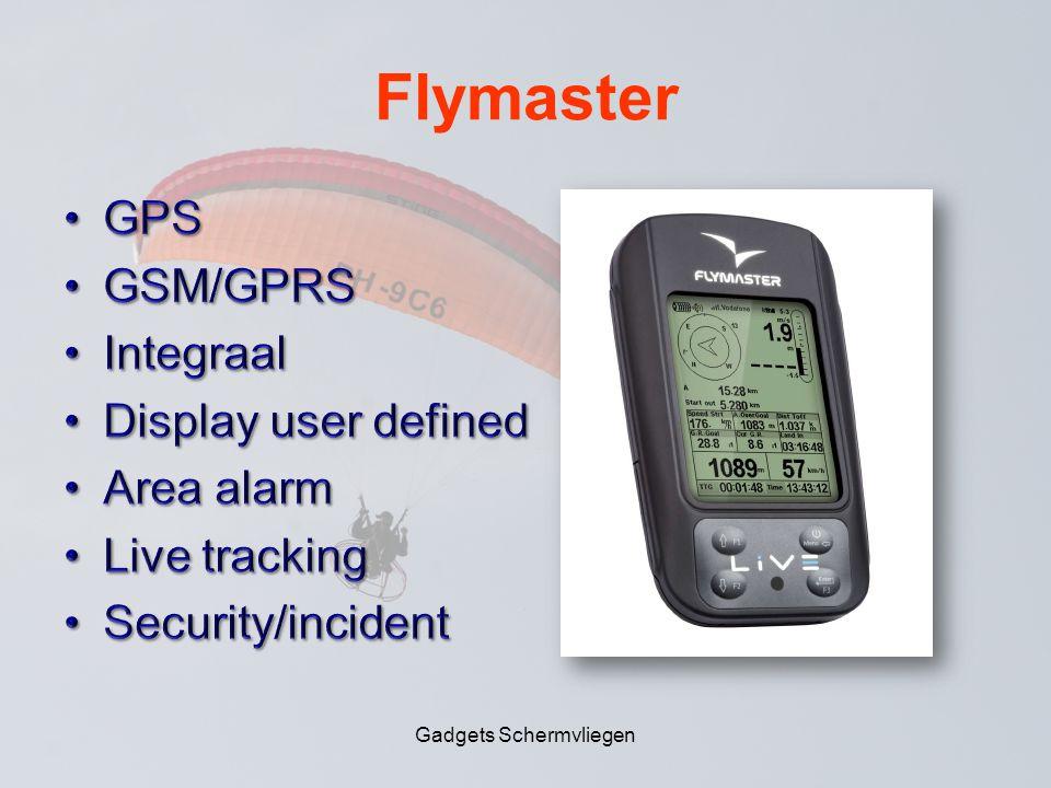 Flymaster Gadgets Schermvliegen
