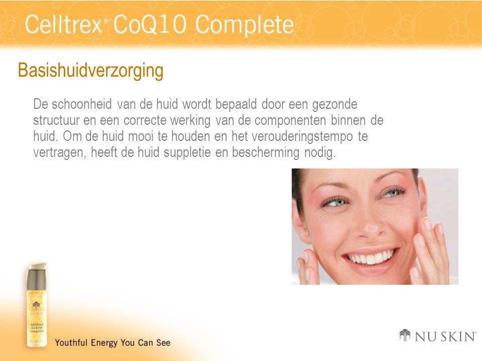 Basishuidverzorging De schoonheid van de huid wordt bepaald door een gezonde structuur en een correcte werking van de componenten binnen de huid.