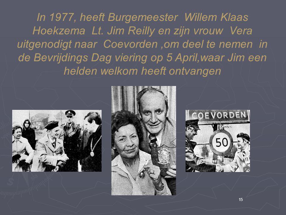 15 In 1977, heeft Burgemeester Willem Klaas Hoekzema Lt.