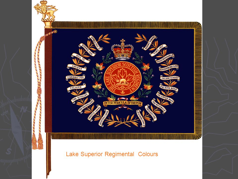 5 Lake Superior Regimental Colours