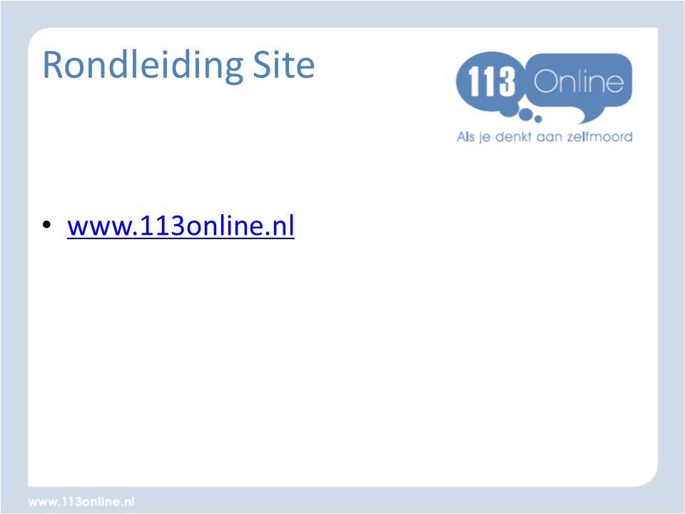 Rondleiding Site • www.113online.nl www.113online.nl