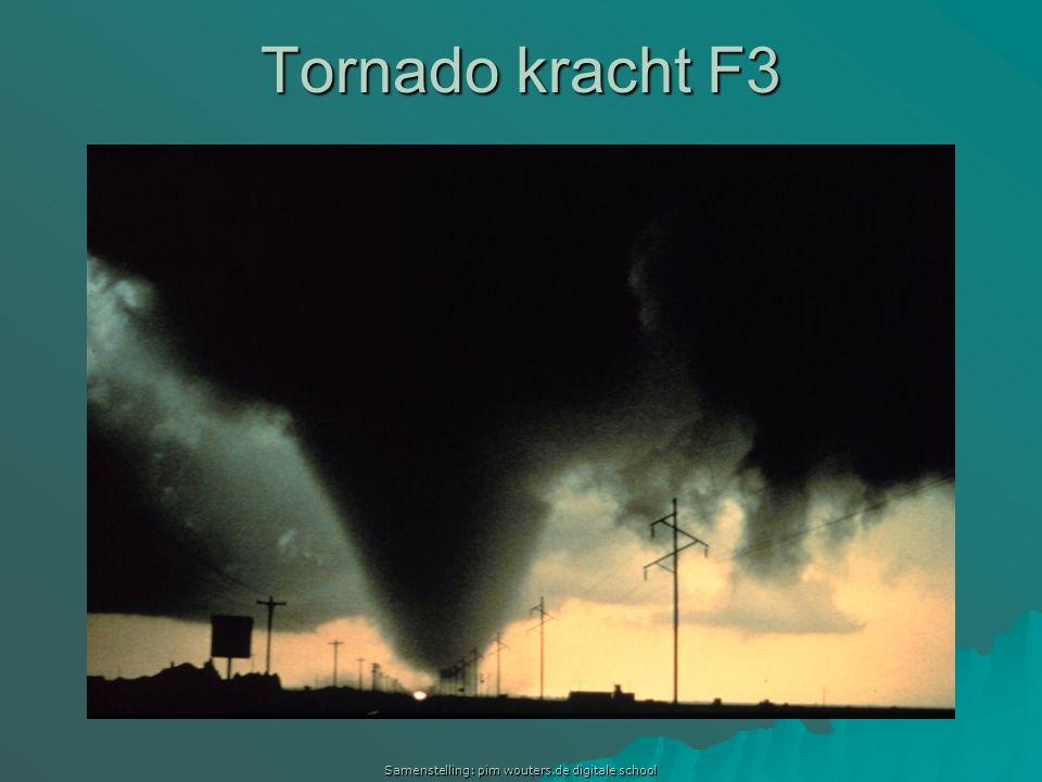 Samenstelling: pim wouters.de digitale school Tornado kracht F3