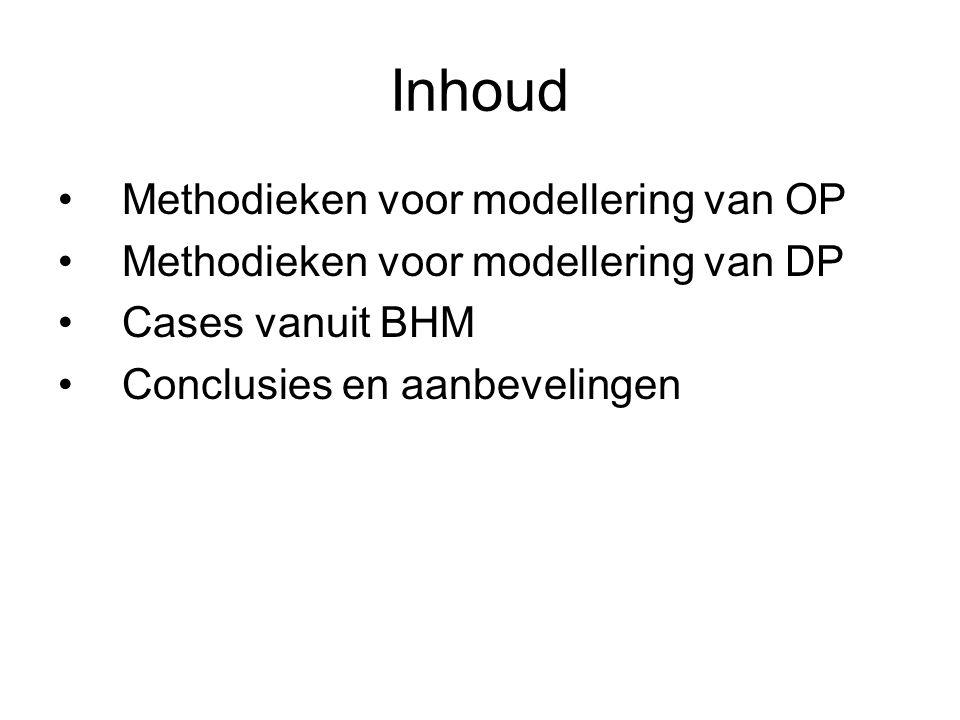 Omgaan met inhomogene data •Inhomogeniteiten detecteren middels fundamentele en/of statistische methoden (t-toets, ANOVA, trendanalyse, etc) •Data filteren in homogene subsets •Parametrische modellering per subset