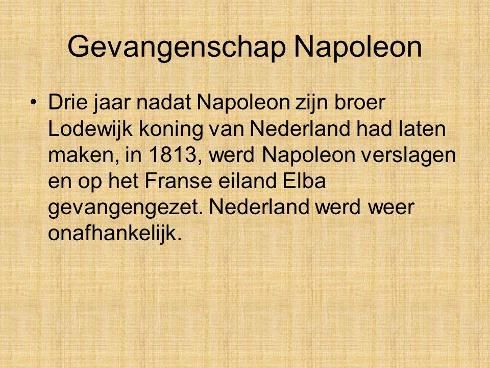 Lodewijk Bonaparte Lodewijk Bonaparte zorgde goed voor het Nederlandse volk. Anders dan zijn broer Napoleon was hij begaan met de mensen die in Nederl