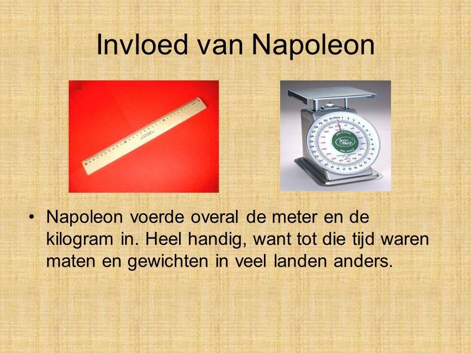 Invloed van Napoleon •Napoleon is heel belangrijk geweest voor de Europese geschiedenis. Dat komt omdat hij veel veranderde in de landen die bij zijn