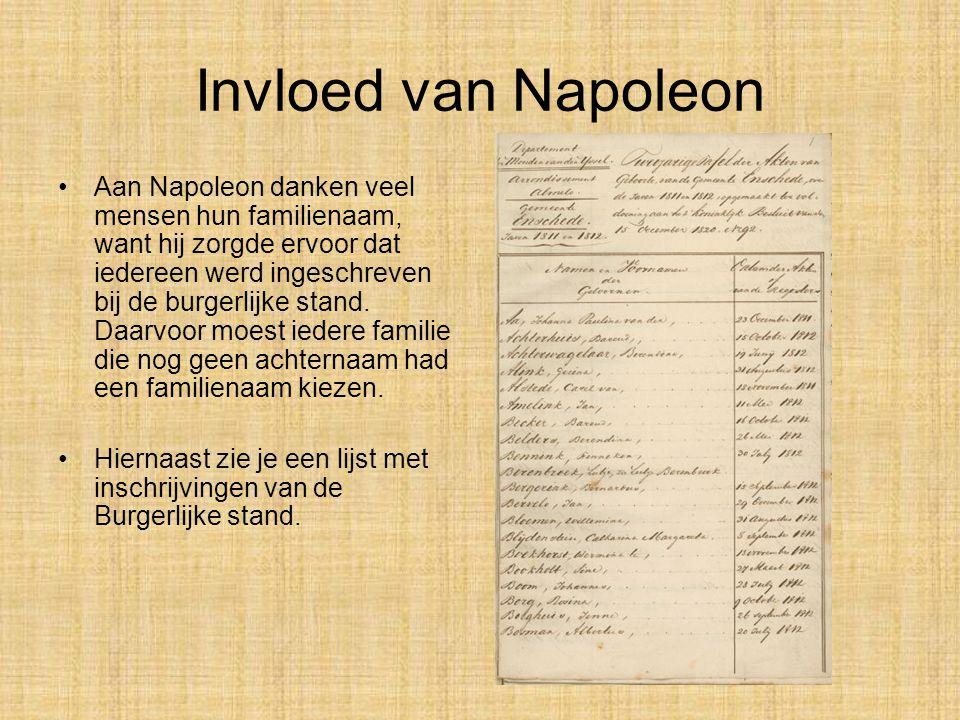 Invloed van Napoleon •Napoleon voerde overal de meter en de kilogram in. Heel handig, want tot die tijd waren maten en gewichten in veel landen anders