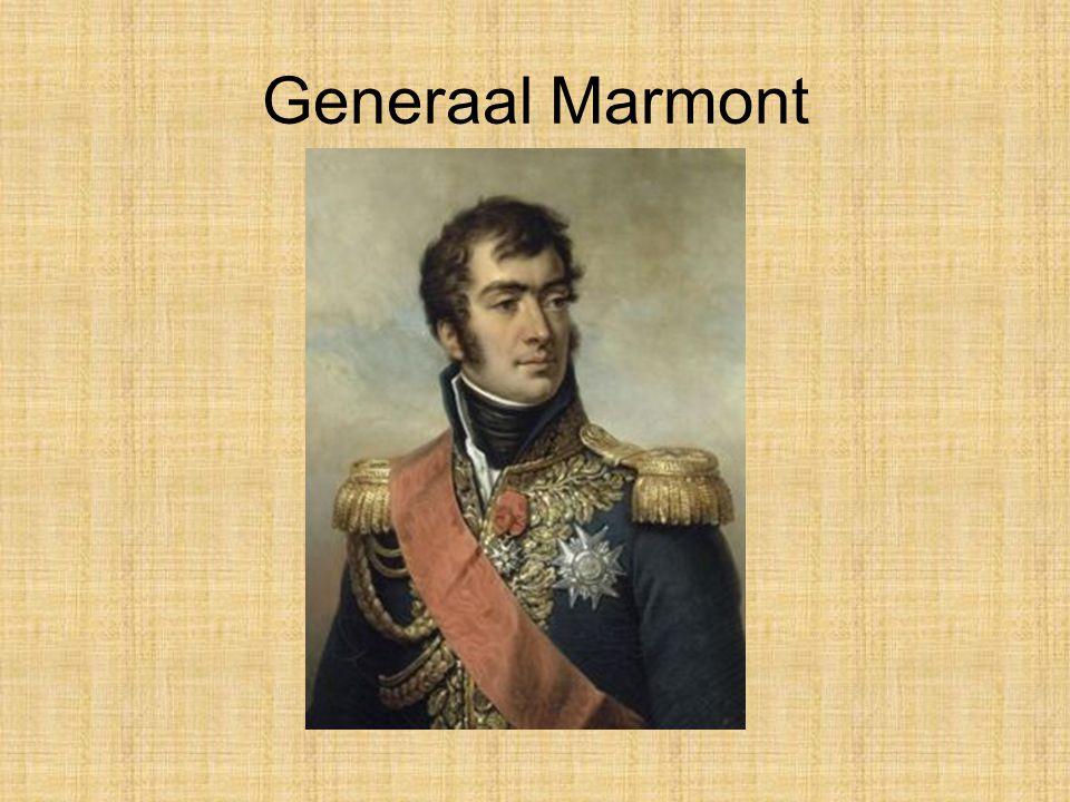 •Na overwinningen in Italië vertrekt Napoleon naar Egypte. Hier stond generaal Marmont aan zijn zijde.