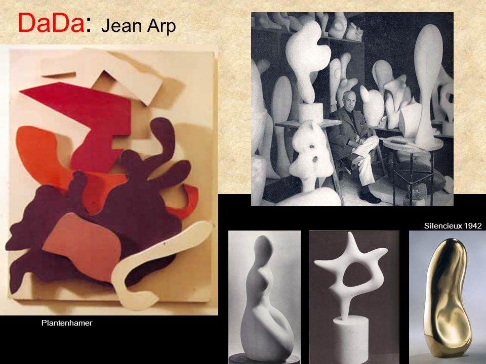 DaDa: Jean Arp Plantenhamer Silencieux 1942