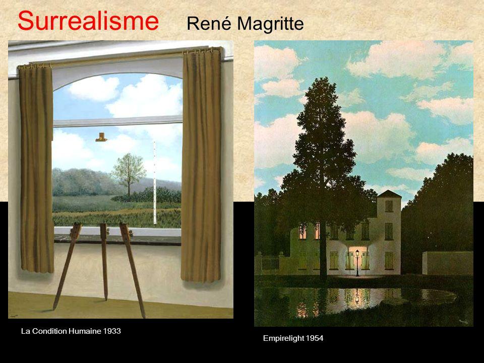 Empirelight 1954 La Condition Humaine 1933 Surrealisme René Magritte