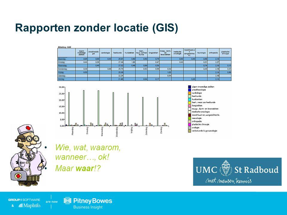MapInfo Professional – GIS analyse