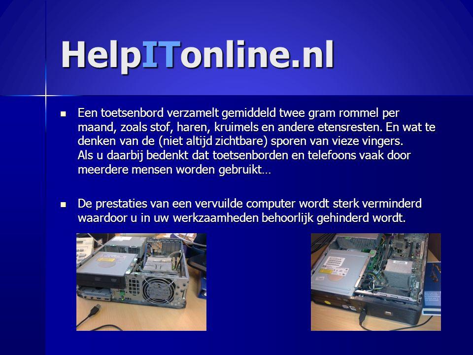 HelpITonline.nl  Een toetsenbord verzamelt gemiddeld twee gram rommel per maand, zoals stof, haren, kruimels en andere etensresten. En wat te denken