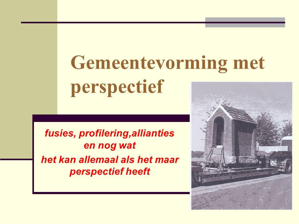 Leren van Utrecht  Heel goed kijken naar culturen en cultuurverschillen  Identiteitssymbolen (aparte vierplekken) zijn belangrijk  Bewustmaken van overlevingscondities door transparantie van inkomsten/uitgaven is nodig  Bij verrassingsvolle ontwikkelingen nieuwe wegen openen