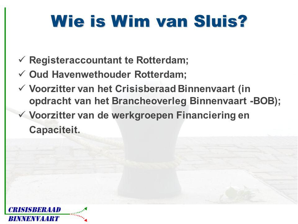 Wie is Wim van Sluis.