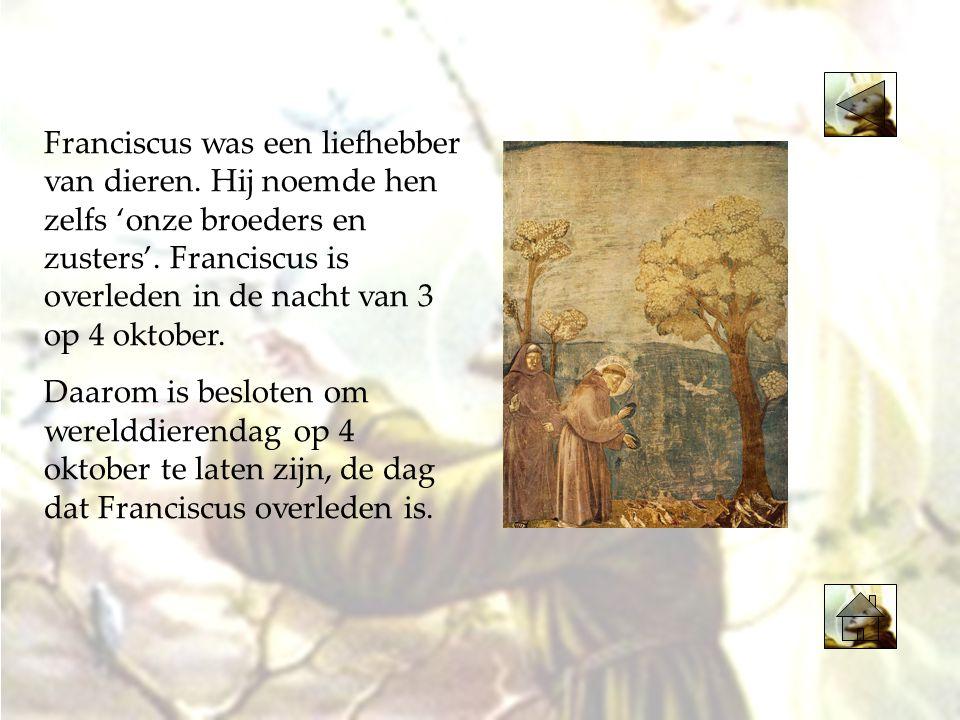 Franciscus heette bij zijn geboorte eigenlijk: Giovanni Battista Bernardone.