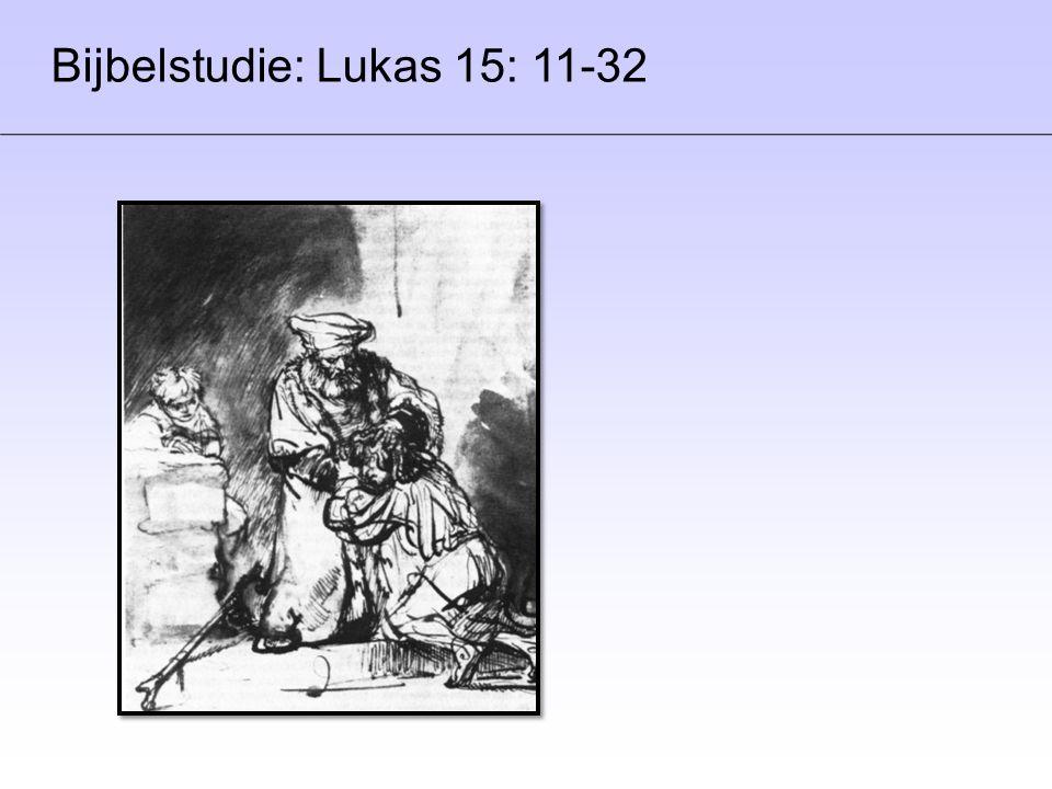 Bijbelstudie: Lukas 15: 11-32