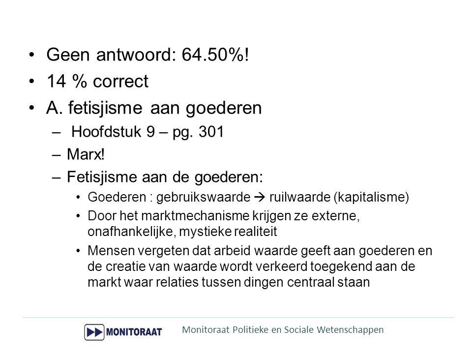 •43% correct  D.