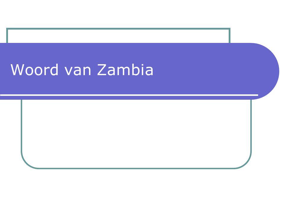 Woord van Zambia