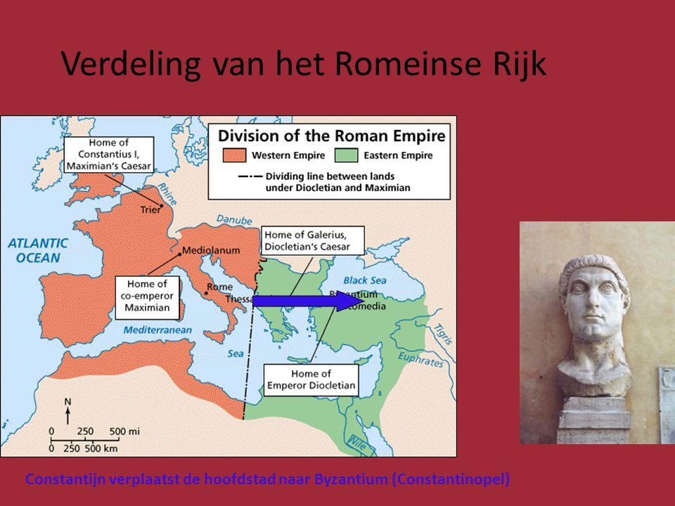 HET LANDGOED WAS AUTARKISCH (ZELFVOORZIENEND) • De handel zoals die bestond in het Romeinse Rijk was ineengestort: • Een van de gevolgen was dat de landgoederen bijna geheel zelfvoorzienend (autarkisch) waren.