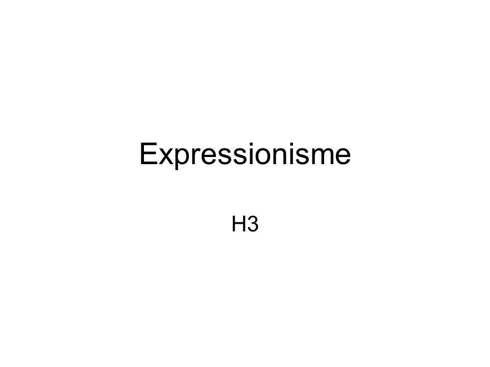 Expressionisme H3