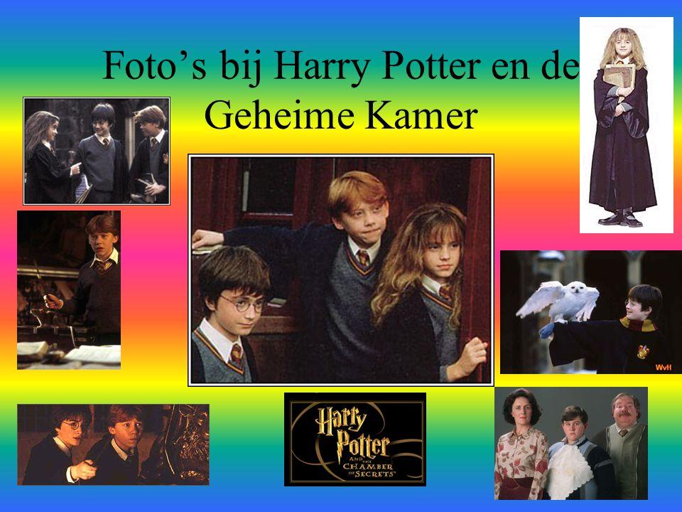 Foto's bij Harry Potter en de Geheime Kamer