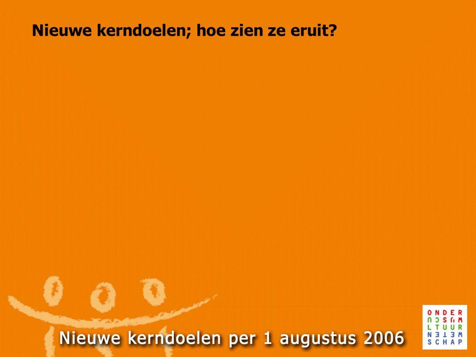 Kerndoelen Nederlandse taal: Mondeling taalonderwijs 1 De leerlingen leren informatie te verwerven uit gesproken taal.