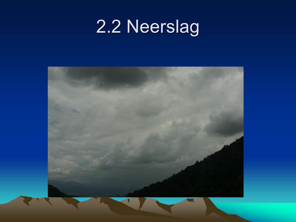 2.2 Neerslag