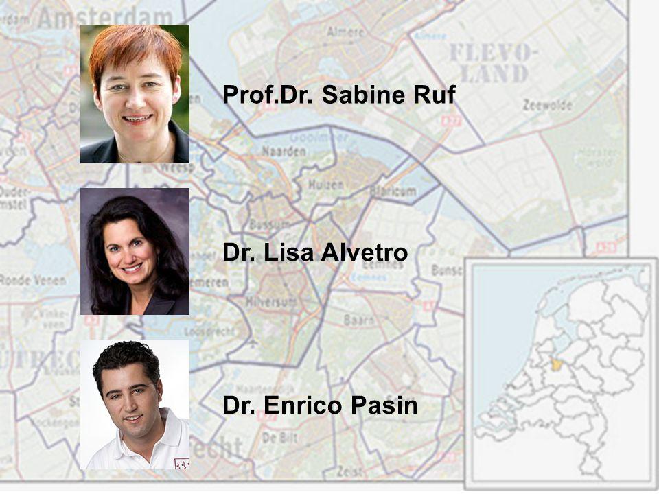 Prof.Dr. Sabine Ruf Dr. Lisa Alvetro Dr. Enrico Pasin