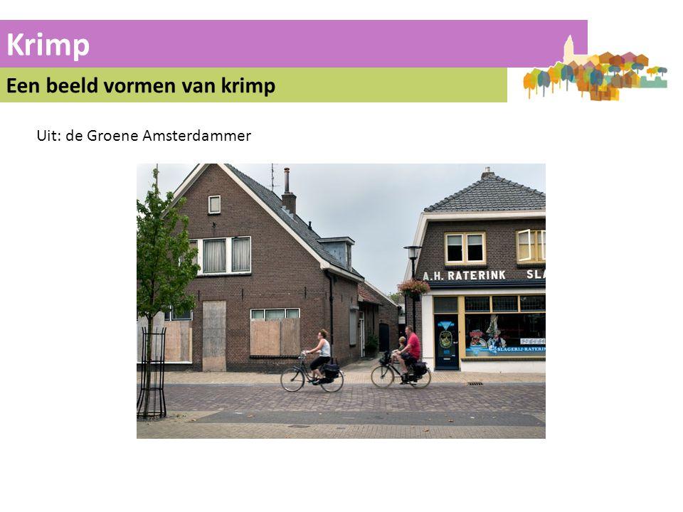 Krimp Een beeld vormen van krimp Uit: de Groene Amsterdammer