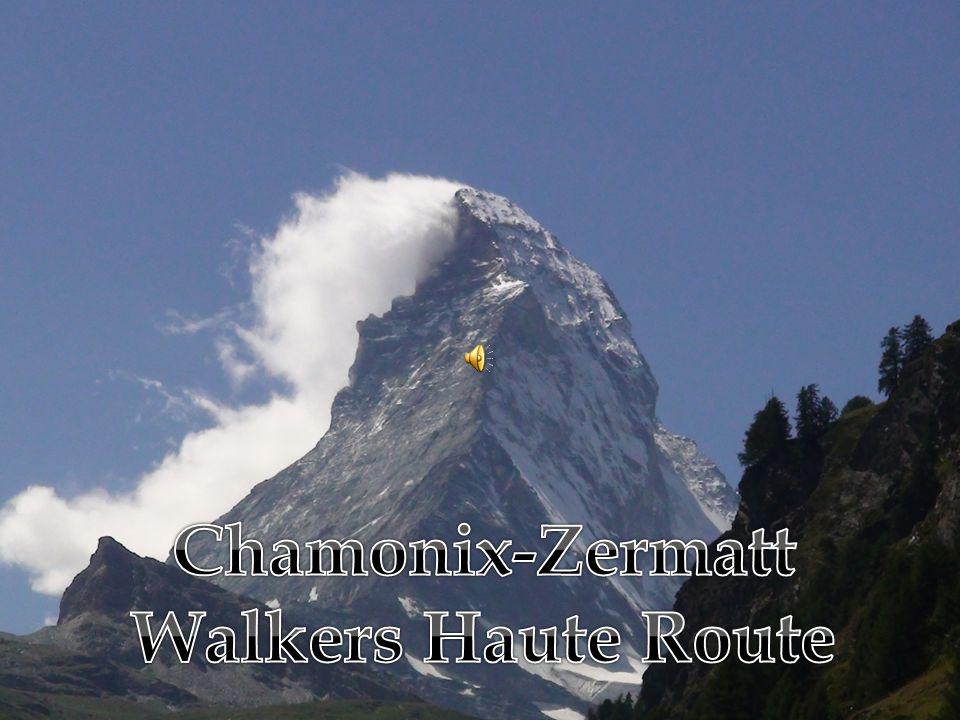 Walkers Haute Route 2009