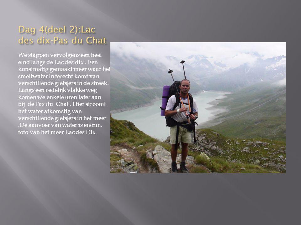 Dag 8, (deel 2):Randa-Zermatt Aldus zijn we verplicht af te dalen naar het eerste dorpje Randa.