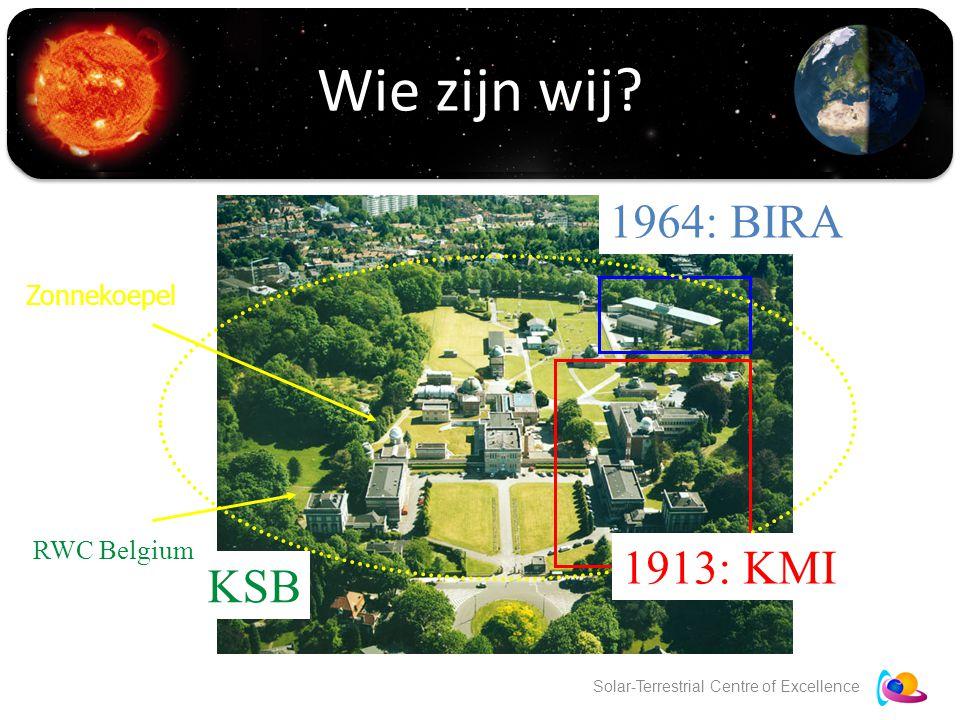 Solar-Terrestrial Centre of Excellence Wie zijn wij.