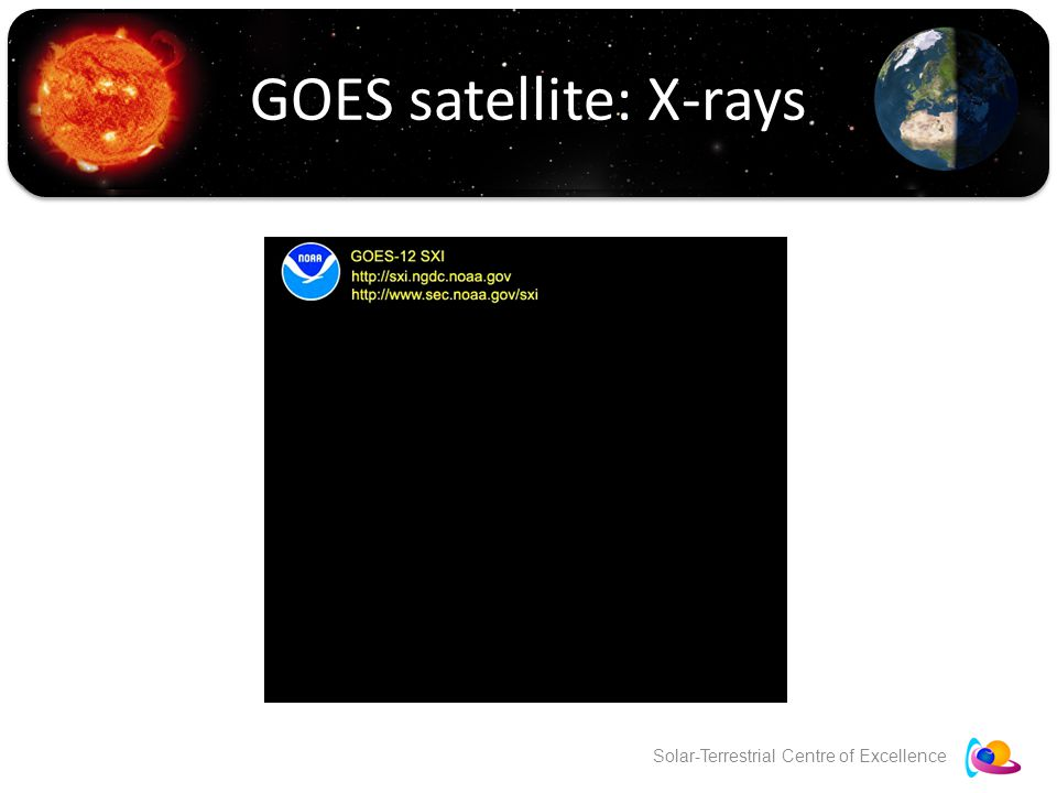 Solar-Terrestrial Centre of Excellence GOES satellite: X-rays
