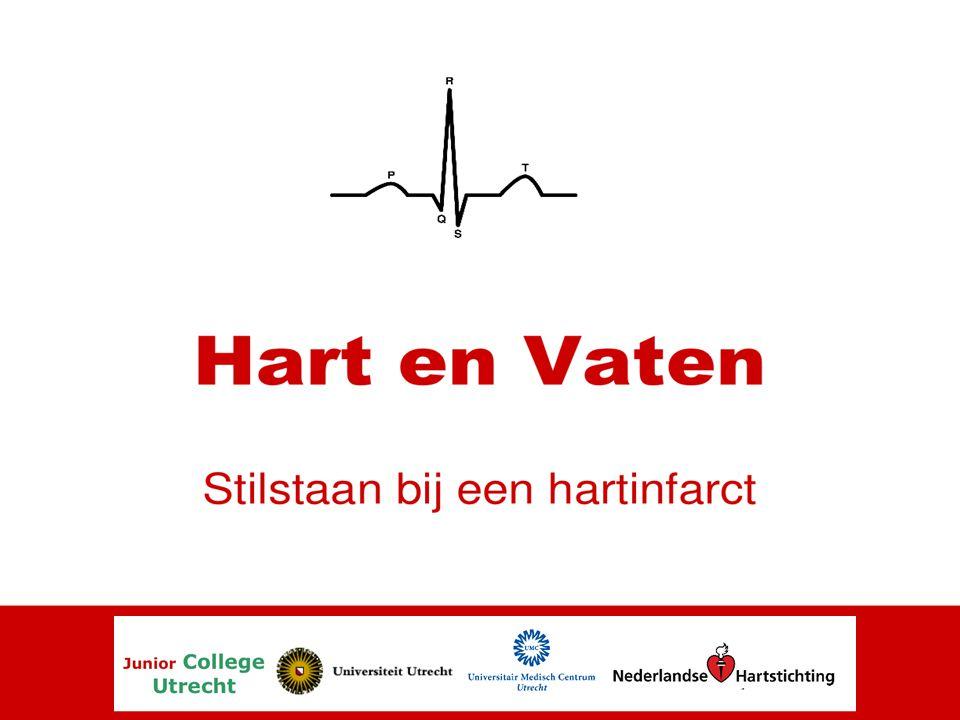 Het Hartinfarct 1.Door atherosclerose wordt de bloedvoorziening van het hart zelf wordt lokaal afgesloten.