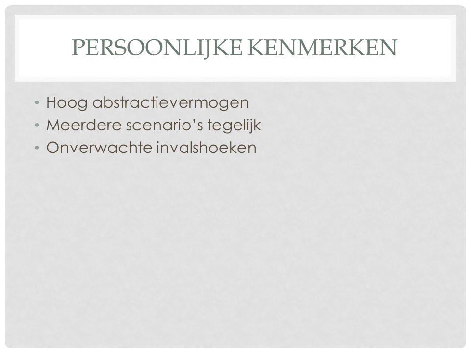 TYPISCHE KENMERKEN HOOGBEGAAFDHEID • Zelfreflectie • Modelleren • Denkkracht • Snel schakelen • Compenseren