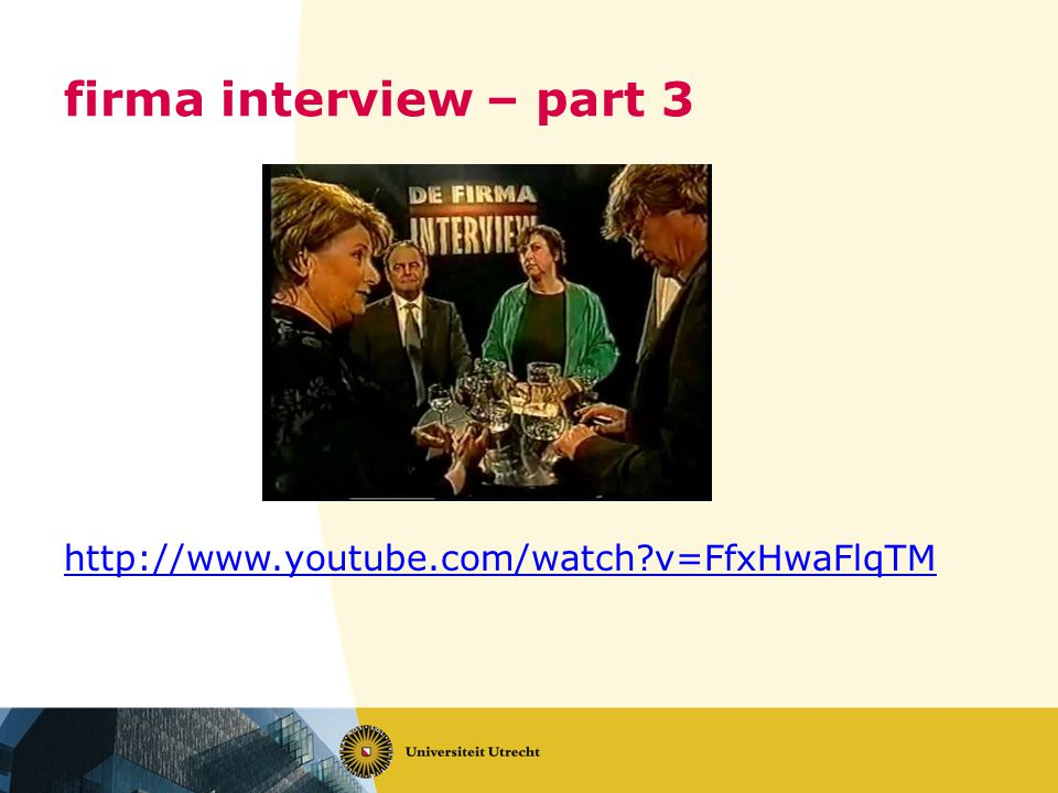 firma interview – part 3   v=FfxHwaFlqTM