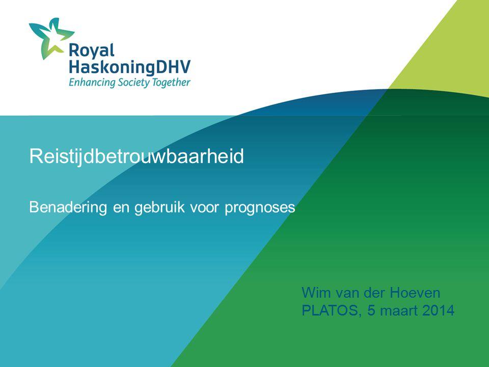 Reistijdbetrouwbaarheid Benadering en gebruik voor prognoses Wim van der Hoeven PLATOS, 5 maart 2014