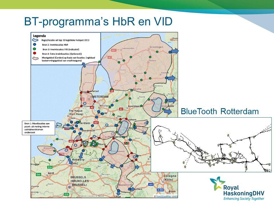 BT-programma's HbR en VID BlueTooth Rotterdam