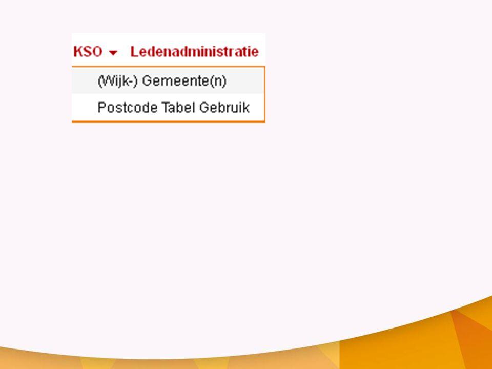 PROCEDURE 1.sectie(s) maken en opslaan 2.ga naar sectie waaruit de postcodes moeten komen 3.zoek postcodes van nieuwe sectie 4.verwijder de postcodes uit die sectie •kies toewijzen aan andere sectie •vink vakje aan om geregistreerden mee te nemen Als start een basissectie (als u nieuw begint met LRP is dit sectie 0-0) basissectienieuwe sectie(s)
