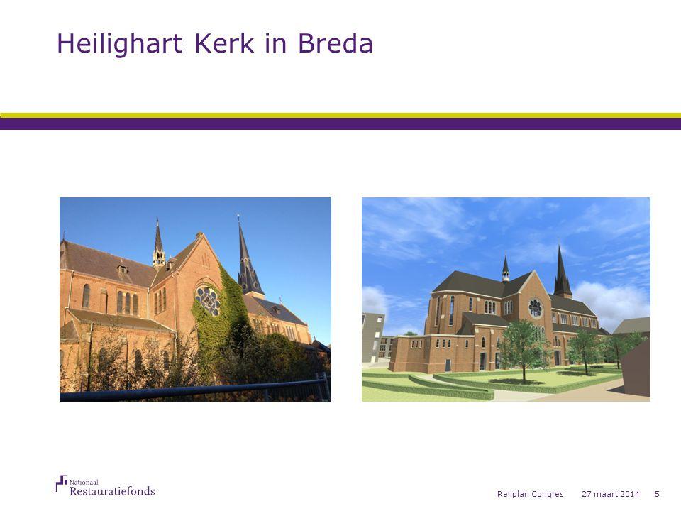 Heilighart Kerk in Breda 27 maart 2014Reliplan Congres5