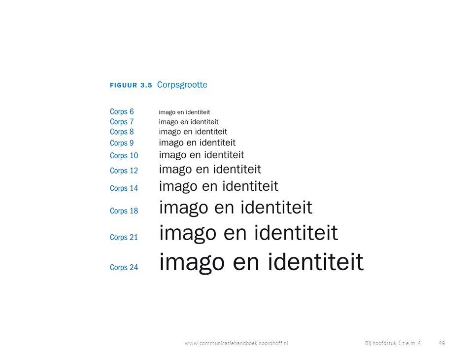www.communicatiehandboek.noordhoff.nlBij hoofdstuk 1 t.e.m. 4 49