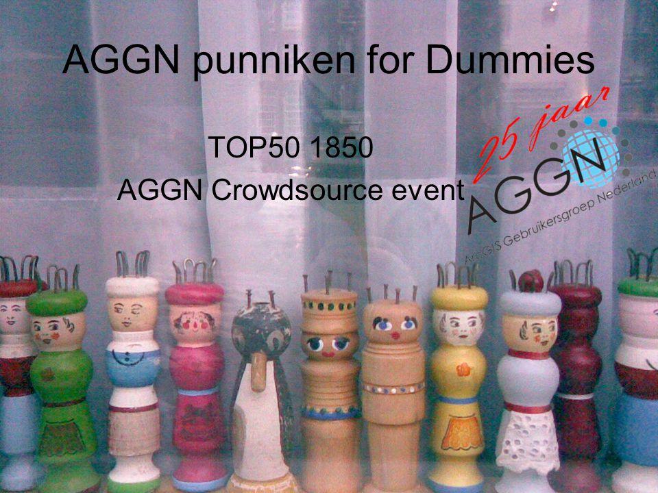 AGGN punniken for Dummies TOP50 1850 AGGN Crowdsource event