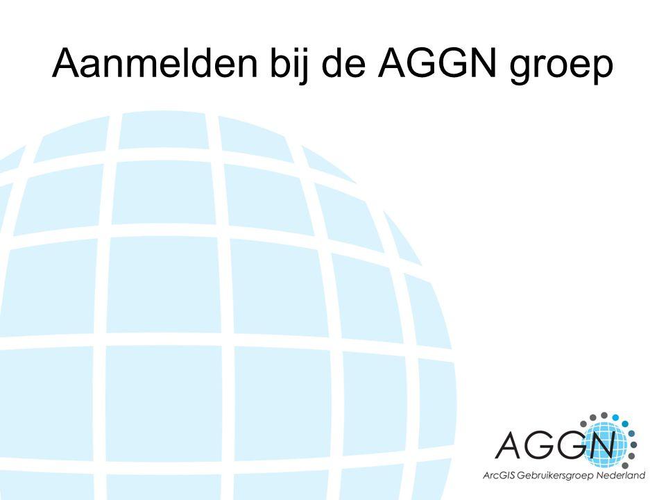 Aanmelden bij de AGGN groep