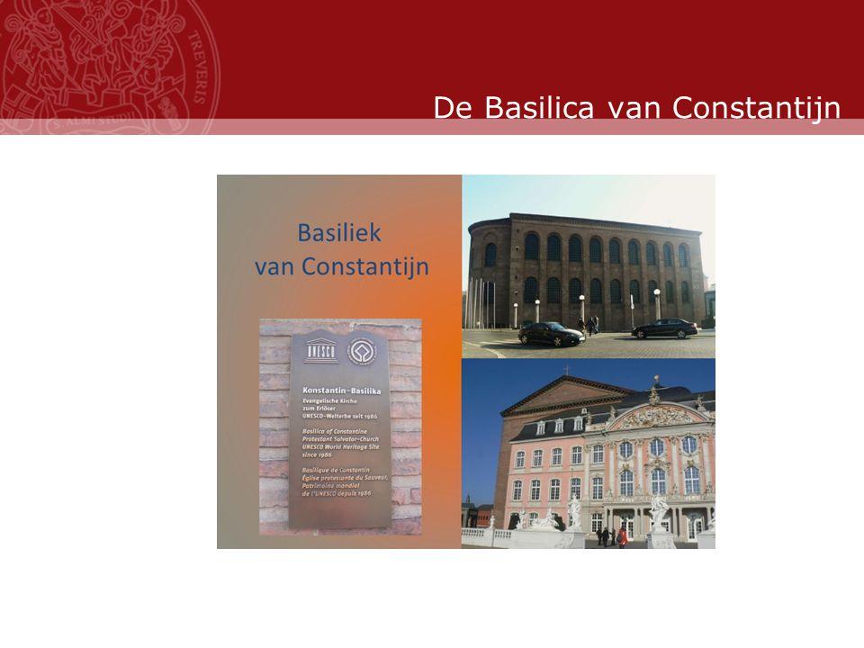Stand: November 2007 De Basilica van Constantijn