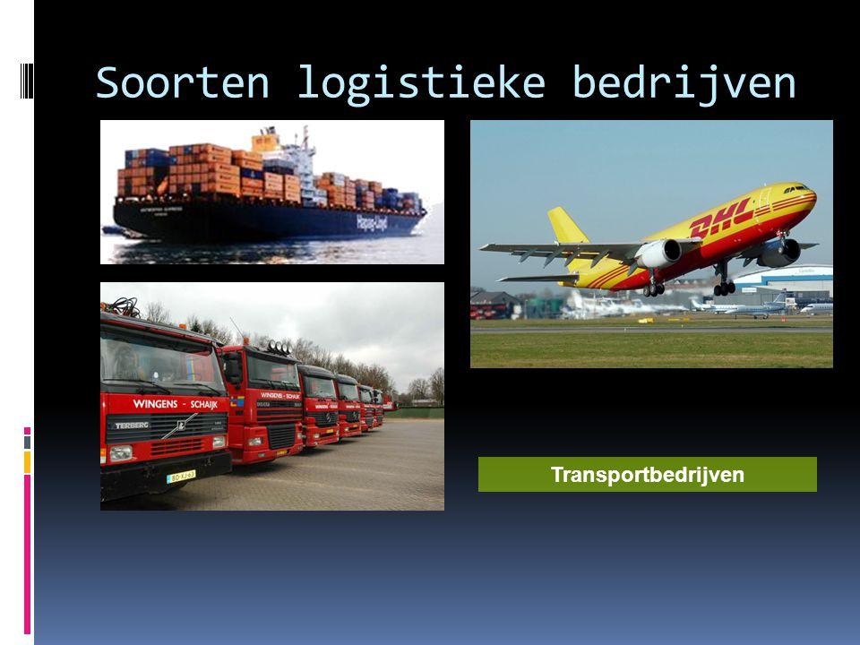 Soorten logistieke bedrijven Transportbedrijven