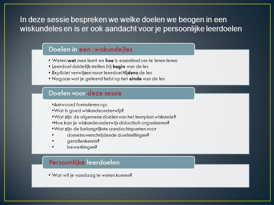 Reken zelf uit volgens • Standaardprocedure • Flexibel • Anders Hoeveel leerlingen kiezen voor die aanpak.