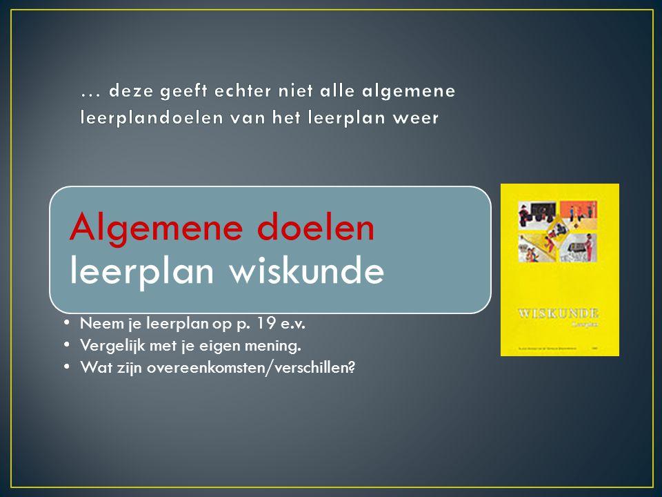 • Nederlandse leerkrachten constateren dat de CITO- toetsen rekenen voor veel leerlingen problemen opleveren.