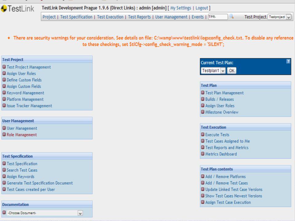 Stap-voor-Stap TestplanUitvoerenRapportage ProjectMantisReqsSpecs