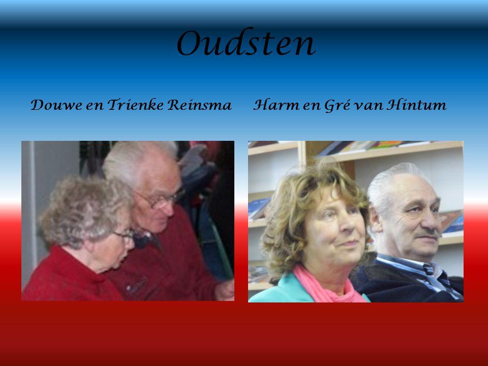 Oudsten Douwe en Trienke ReinsmaHarm en Gré van Hintum